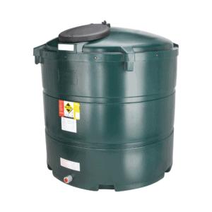1340 litre plastic bunded oil tank