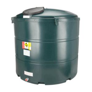 2455 litre plastic bunded oil tank