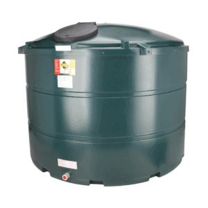 3500 litre plastic bunded oil tank