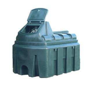 2450 Litre Bunded Plastic Diesel Tank