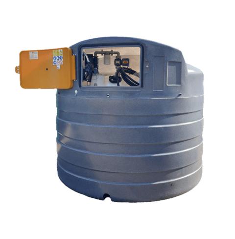 5000 litre plastic bunded diesel tank dispenser