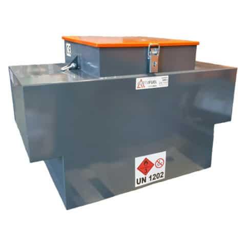440 litre portable steel diesel box