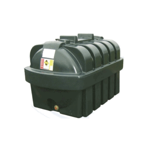1300 Litre Plastic Single Skin Oil Tank