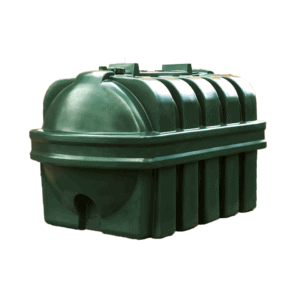 2450 Litre plastic single skin oil tank