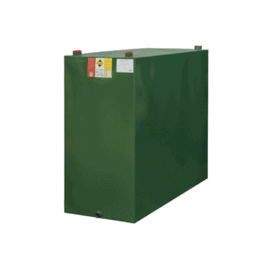 1100 litre single skin steel oil tank