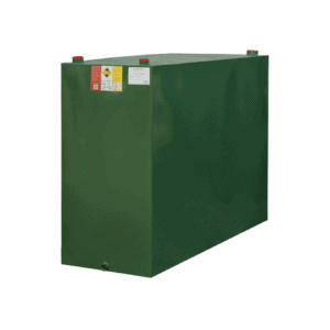 1350 Litre single skin steel oil tank