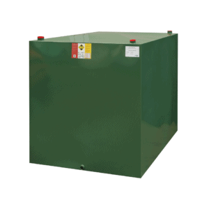 1800 litre steel single skin oil tank