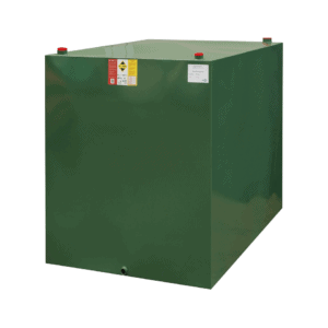 2000 litre steel single skin oil tank