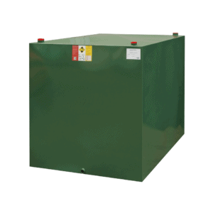2500 litre single skin steel oil tank