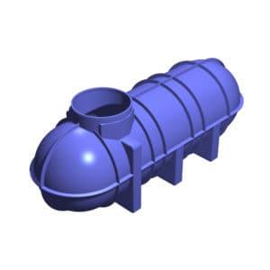 3400 litre underground water tank