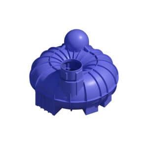 5200 litre underground water tank