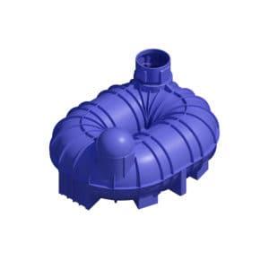 6800 litre underground water tank