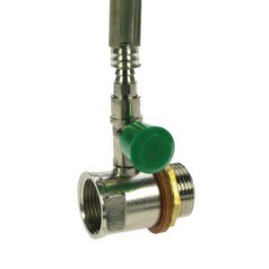 push button oil tank sight gauge