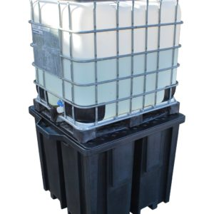 Recycled Polyethylene IBC Spill Pallet (With 4way FLT Access)