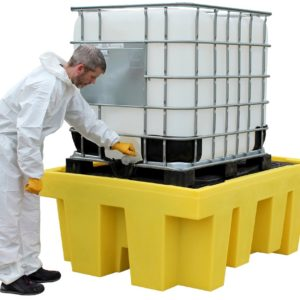 Single IBC Spill Pallet (with removable deck)