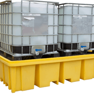 Double IBC Spill Pallet (with 4 way forklift access)