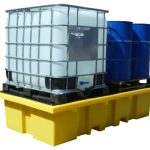 Double IBC Spill Pallet (with removable deck)