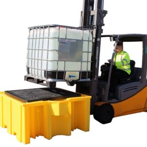 Single IBC Spill Pallet (with grid)