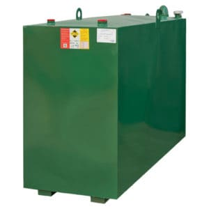 1350 litre steel lube oil tank