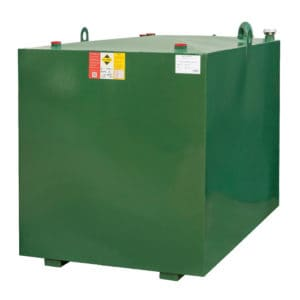 1800 litre steel lube oil tank