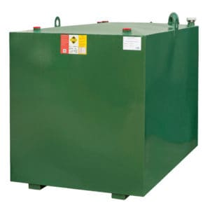 2000 litre steel lube oil tank