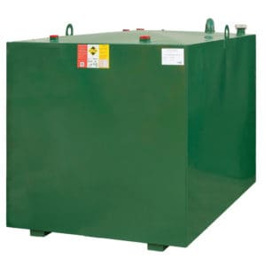 2250 litre steel lube oil tank