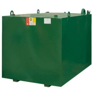 2700 litre steel lube oil tank