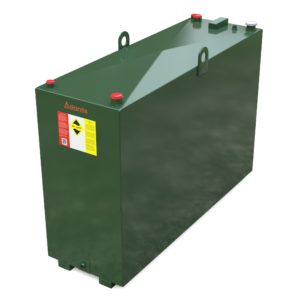 1050 litre steel bunded oil tank