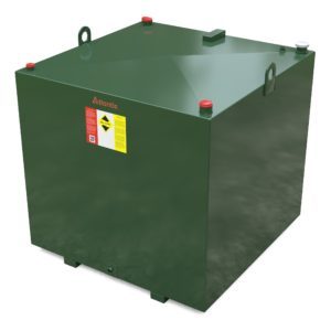 1800 litre steel bunded oil tank