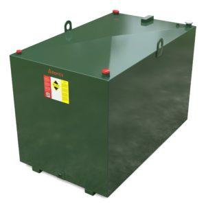 2000 litre steel bunded oil tank