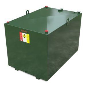 2250 litre steel bunded oil tank