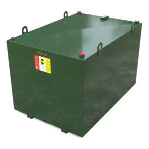 2700 litre steel bunded oil tank