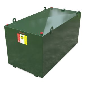 3000 litre steel bunded oil tank