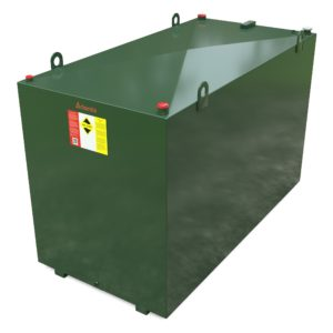 4000 litre steel bunded oil tank