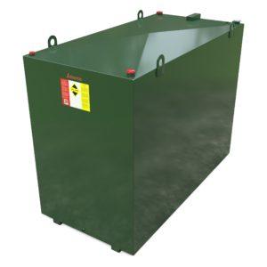 4500 litre steel bunded oil tank