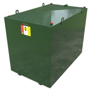 5600 litre steel bunded oil tank