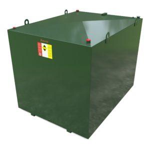 6800 litre steel bunded oil tank