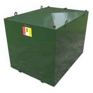 7500 litre steel bunded oil tank