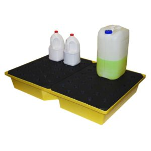 General Purpose Spill Tray, 104ltr bund (with grid)