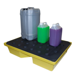 General Purpose Spill Tray, 43ltr bund (with grid)