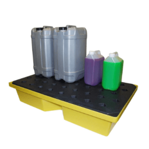 General Purpose Spill Tray, 63ltr bund (with grid)