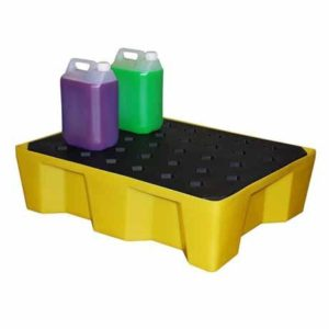 General Purpose Spill Tray, 66ltr bund (with grid)
