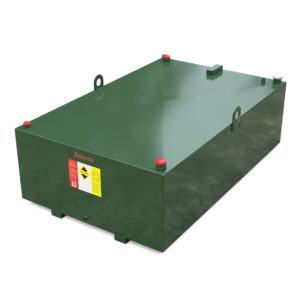 1350 Litre low profile steel bunded oil tank