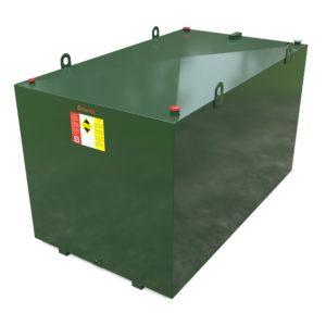 5000 litre steel bunded oil tank