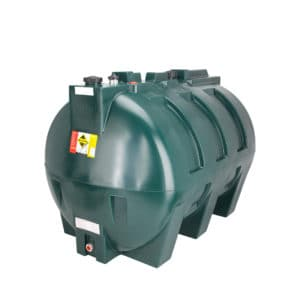 1900 Litre single skin plastic oil tank