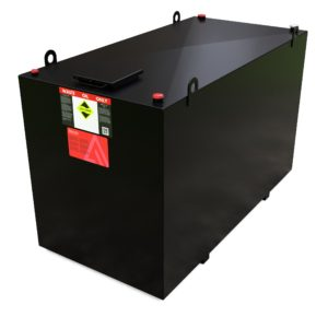 4000 Litre Steel Bunded Waste Oil Tank