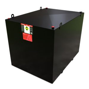 7000 Litre Steel Bunded Waste Oil Tank