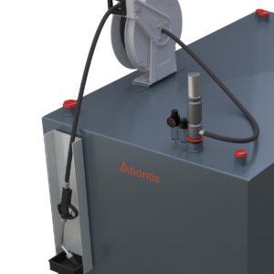 Air Operated Oil Pump Kit 9L/Min 3:1 Ratio