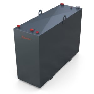 1050 Litre Steel Bunded Lube Oil Tank