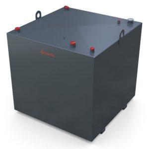 1800 Litre steel bunded lube oil tank